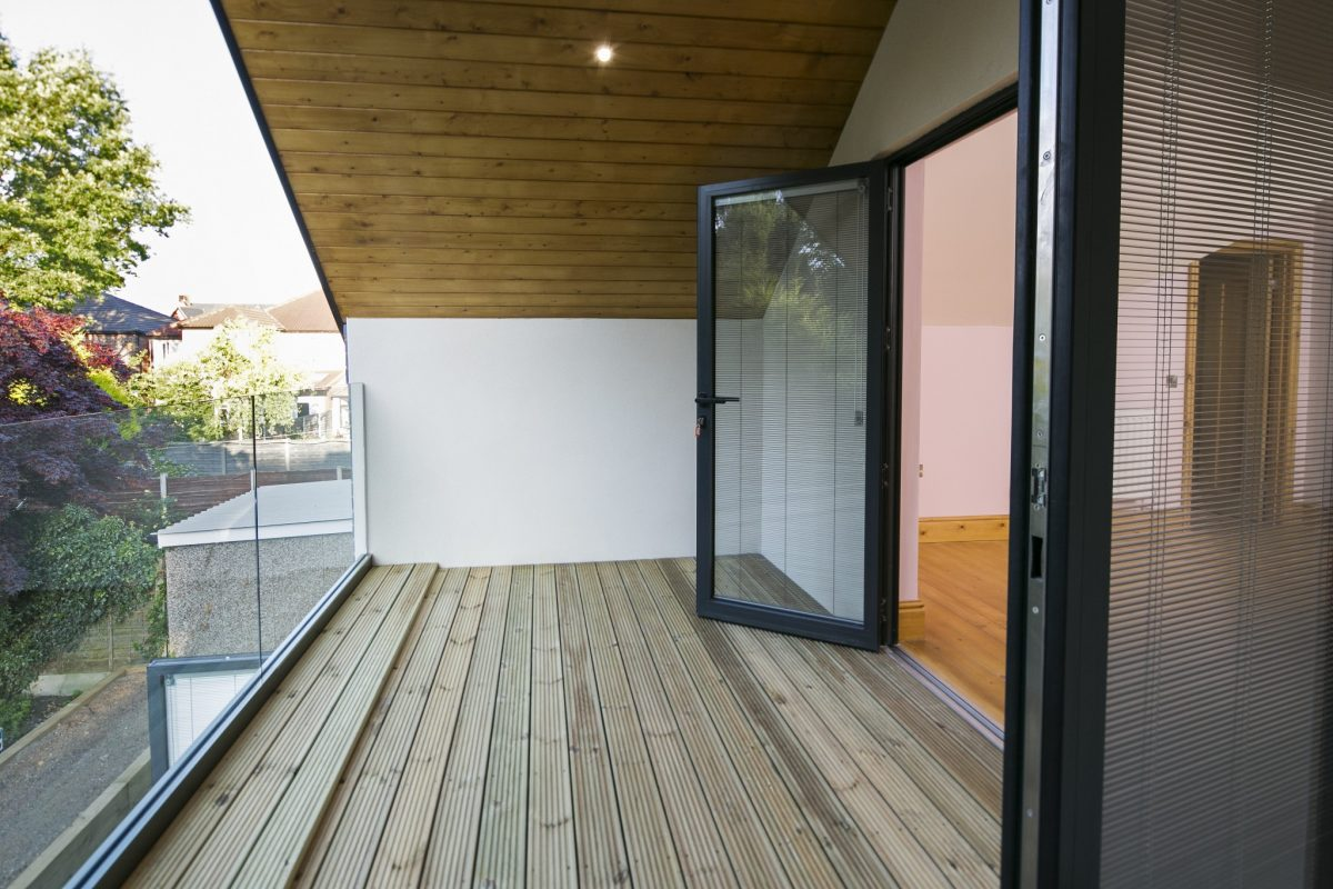 extension to bungalow