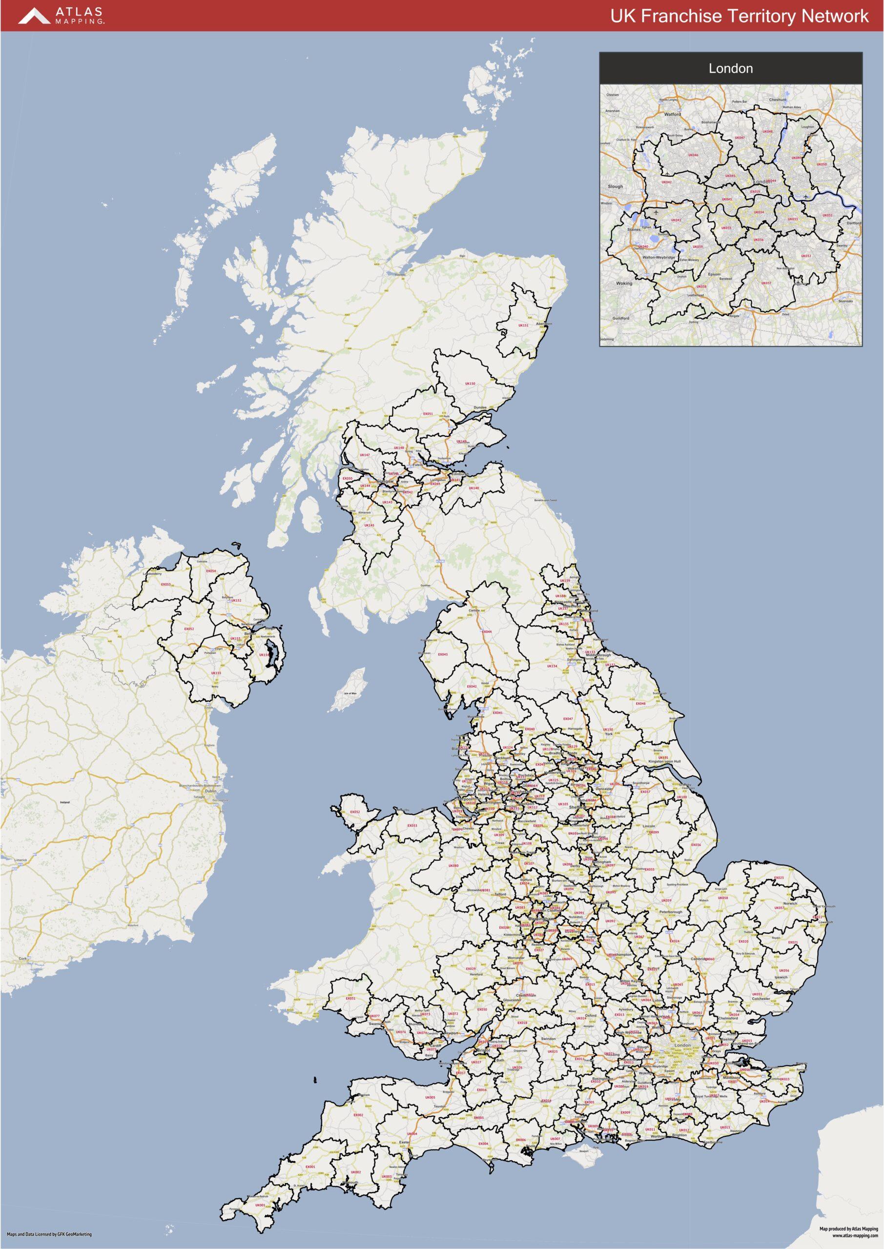 Pride Road Regions Map